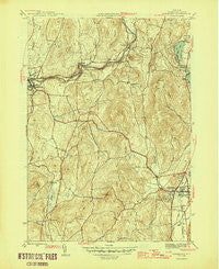 Cambridge New York Historical topographic map, 1:31680 scale, 7.5 X 7.5 Minute, Year 1946