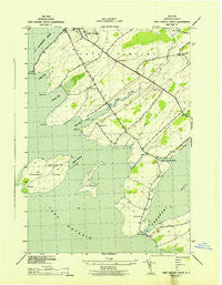 Cape Vincent South New York Historical topographic map, 1:31680 scale, 7.5 X 7.5 Minute, Year 1942