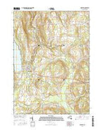 Cazenovia New York Current topographic map, 1:24000 scale, 7.5 X 7.5 Minute, Year 2016 from New York Map Store