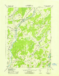 Chase Mills New York Historical topographic map, 1:31680 scale, 7.5 X 7.5 Minute, Year 1943