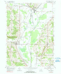 Cherry Creek New York Historical topographic map, 1:24000 scale, 7.5 X 7.5 Minute, Year 1954