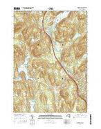 Chestertown New York Current topographic map, 1:24000 scale, 7.5 X 7.5 Minute, Year 2016 from New York Map Store