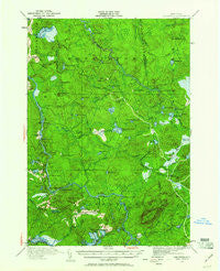Childwold New York Historical topographic map, 1:62500 scale, 15 X 15 Minute, Year 1920