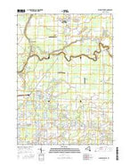 Clarence Center New York Current topographic map, 1:24000 scale, 7.5 X 7.5 Minute, Year 2016 from New York Map Store