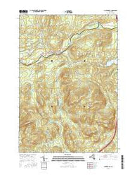 Clintonville New York Current topographic map, 1:24000 scale, 7.5 X 7.5 Minute, Year 2016