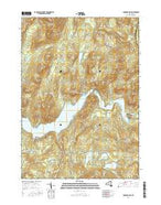 Conklingville New York Current topographic map, 1:24000 scale, 7.5 X 7.5 Minute, Year 2016 from New York Map Store