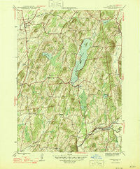 Cossayuna New York Historical topographic map, 1:31680 scale, 7.5 X 7.5 Minute, Year 1946