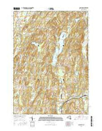 Cossayuna New York Current topographic map, 1:24000 scale, 7.5 X 7.5 Minute, Year 2016 from New York Map Store