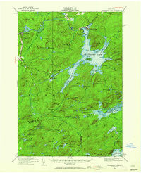Cranberry Lake New York Historical topographic map, 1:62500 scale, 15 X 15 Minute, Year 1919
