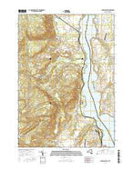 Crown Point New York Current topographic map, 1:24000 scale, 7.5 X 7.5 Minute, Year 2016 from New York Map Store