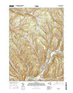 Delhi New York Current topographic map, 1:24000 scale, 7.5 X 7.5 Minute, Year 2016 from New York Map Store