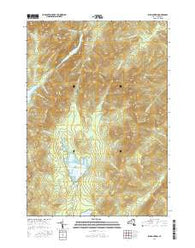 Dix Mountain New York Current topographic map, 1:24000 scale, 7.5 X 7.5 Minute, Year 2016