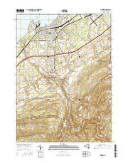 Dunkirk New York Current topographic map, 1:24000 scale, 7.5 X 7.5 Minute, Year 2016 from New York Maps Store