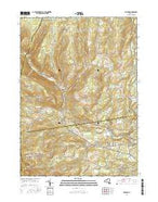 Durham New York Current topographic map, 1:24000 scale, 7.5 X 7.5 Minute, Year 2016 from New York Map Store