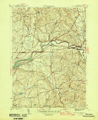 Eagle Bridge New York Historical topographic map, 1:31680 scale, 7.5 X 7.5 Minute, Year 1946