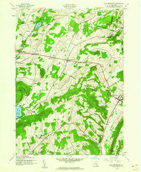 East Springfield New York Historical topographic map, 1:24000 scale, 7.5 X 7.5 Minute, Year 1943
