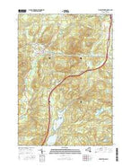 Elizabethtown New York Current topographic map, 1:24000 scale, 7.5 X 7.5 Minute, Year 2016 from New York Map Store