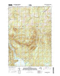 Ellenburg Center New York Current topographic map, 1:24000 scale, 7.5 X 7.5 Minute, Year 2016