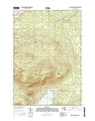 Ellenburg Mountain New York Current topographic map, 1:24000 scale, 7.5 X 7.5 Minute, Year 2016
