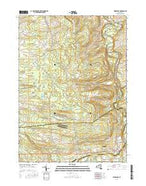 Esperance New York Current topographic map, 1:24000 scale, 7.5 X 7.5 Minute, Year 2016 from New York Map Store