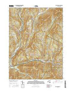 Fleischmanns New York Current topographic map, 1:24000 scale, 7.5 X 7.5 Minute, Year 2016 from New York Map Store