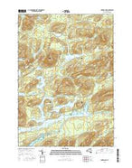 Forked Lake New York Current topographic map, 1:24000 scale, 7.5 X 7.5 Minute, Year 2016 from New York Map Store
