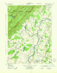 Gardiner New York Historical topographic map, 1:31680 scale, 7.5 X 7.5 Minute, Year 1943