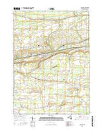 Gasport New York Current topographic map, 1:24000 scale, 7.5 X 7.5 Minute, Year 2016 from New York Map Store