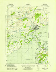 Grindstone Ontario Historical topographic map, 1:31680 scale, 7.5 X 7.5 Minute, Year 1943