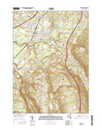 Hamburg New York Current topographic map, 1:24000 scale, 7.5 X 7.5 Minute, Year 2016 from New York Map Store