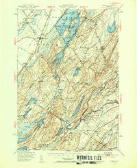 Hammond New York Historical topographic map, 1:62500 scale, 15 X 15 Minute, Year 1949