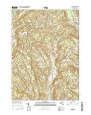 Hartwick New York Current topographic map, 1:24000 scale, 7.5 X 7.5 Minute, Year 2016 from New York Maps Store