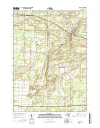 Holley New York Current topographic map, 1:24000 scale, 7.5 X 7.5 Minute, Year 2016 from New York Map Store