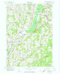 Hubbardsville New York Historical topographic map, 1:24000 scale, 7.5 X 7.5 Minute, Year 1943