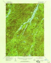 Indian Lake New York Historical topographic map, 1:62500 scale, 15 X 15 Minute, Year 1954