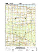 Kendall New York Current topographic map, 1:24000 scale, 7.5 X 7.5 Minute, Year 2016 from New York Map Store