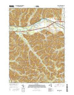 Knapp Creek New York Current topographic map, 1:24000 scale, 7.5 X 7.5 Minute, Year 2016 from New York Map Store