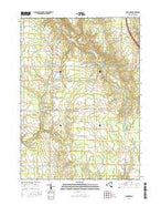 Langford New York Current topographic map, 1:24000 scale, 7.5 X 7.5 Minute, Year 2016 from New York Map Store