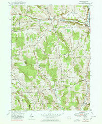 Lisle New York Historical topographic map, 1:24000 scale, 7.5 X 7.5 Minute, Year 1949