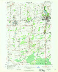Medina New York Historical topographic map, 1:24000 scale, 7.5 X 7.5 Minute, Year 1949