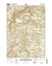 Millers Mills New York Current topographic map, 1:24000 scale, 7.5 X 7.5 Minute, Year 2016 from New York Maps Store