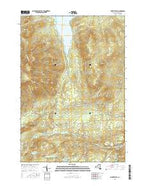Moffitsville New York Current topographic map, 1:24000 scale, 7.5 X 7.5 Minute, Year 2016 from New York Map Store