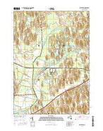 Montezuma New York Current topographic map, 1:24000 scale, 7.5 X 7.5 Minute, Year 2016 from New York Map Store