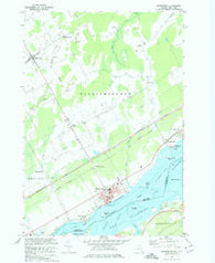 Morrisburg Ontario Historical topographic map, 1:24000 scale, 7.5 X 7.5 Minute, Year 1964