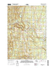Morrisonville New York Current topographic map, 1:24000 scale, 7.5 X 7.5 Minute, Year 2016 from New York Maps Store