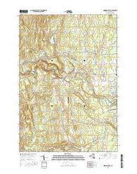 Morrisonville New York Current topographic map, 1:24000 scale, 7.5 X 7.5 Minute, Year 2016