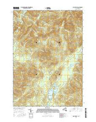 Mount Marcy New York Current topographic map, 1:24000 scale, 7.5 X 7.5 Minute, Year 2016