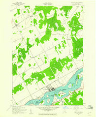 Murphy Island Ontario Historical topographic map, 1:24000 scale, 7.5 X 7.5 Minute, Year 1942