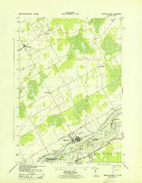 Murphy Island Ontario Historical topographic map, 1:31680 scale, 7.5 X 7.5 Minute, Year 1943