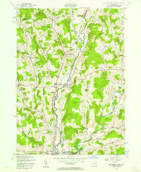 New Berlin North New York Historical topographic map, 1:24000 scale, 7.5 X 7.5 Minute, Year 1943